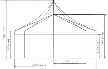 bierzelt 8-Eck octagon