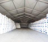 Leichtbauhallen – umfassende Umsetzung für Vertriebshändler von losen Düngemitteln