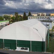 tennishalle zelt